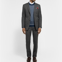 Gucci - Grey Brera Slim-Fit Wool Suit | MR PORTER
