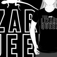 The Lizard Queen T Shirt For Reptile Lovers