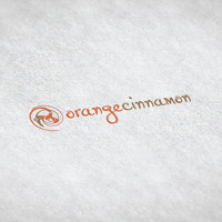 Orange Cinnamon // Pre-made Logo Design / Etsy Set, Social Media Profile Set / One Of A Kind Logo Design / Unique Full Brand Set... and More