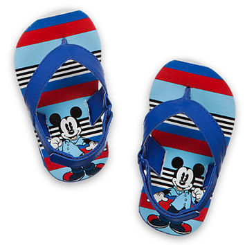 Mickey Mouse Flip Flops for Baby