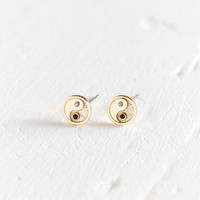 18k Gold-Plated Icon Post Earring | Urban Outfitters