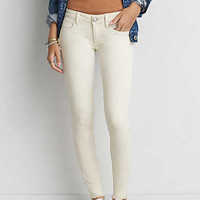 AEO Denim X Super Low Jegging, Light Tan