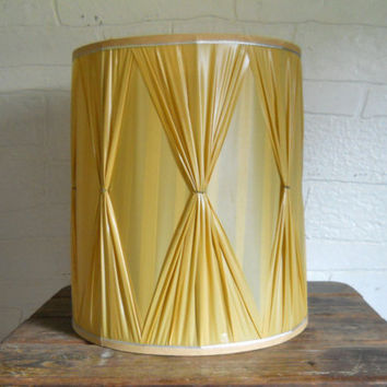 EclecticVintageHome on Etsy on Wanelo:Mid Century Lampshade Drum Lamp Shade Large Drum Lampshade Ho.,Lighting