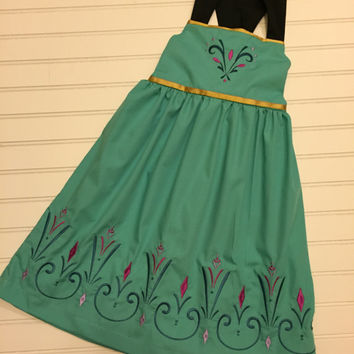 Frozen Queen Elsa Coronation inspired dress. Perfect for your Disney vacation.