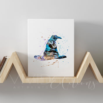 Harry Potter Sorting Hat Gallery Wrapped Canvas