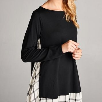 Effortless Chic Black Shirt