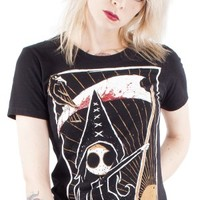 Akumu Ink | The Death Card Tshirt - Tragic Beautiful buy online from Australia