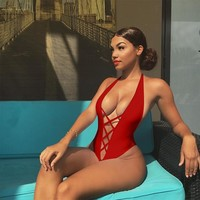 Natalia Sexy One Piece Swimsuit