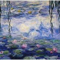 Claude Monet Water Lillies Poster 11x17