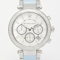 Michael Kors MK6138 Silver Parker Watch