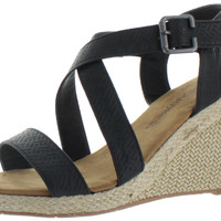 Bearpaw Magnolia Women's Wedge Strappy Sandals Espadrille