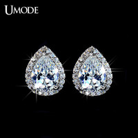 UMODE Fshion Water Drop Design Top Quality Earrings Cubic