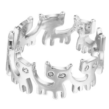 Kitty Band Cat Ring