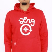LRG, One Pullover Hoodie - Red - Outerwear - MOOSE Limited
