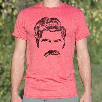 Director of Mustache [Ron Swanson] Men's T-Shirt
