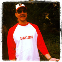 Bacon Men's/Women's Raglan Baseball T-Shirts | Lovebian Designs