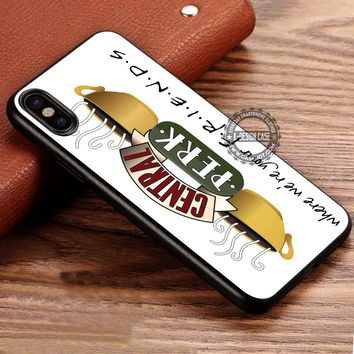 Central Perk Friends TV Series iPhone X 8 7 Plus 6s Cases Samsung Galaxy S8 Plus S7 edge NOTE 8 Covers #iphoneX #SamsungS8