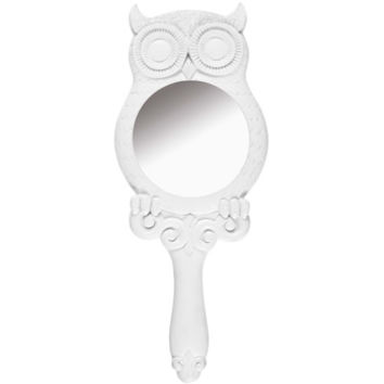 woodland owl hand mirror at Paperchase