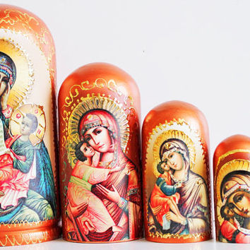 Russian dolls matryoshka Religion kod233