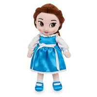 "Licensed cool Disney Store Animators 13"" Princess Belle Plush Toddler Doll Beauty & the Beast"