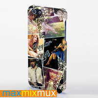 Taylor Swift Collage iPhone 4/4S, 5/5S, 5C Series Full Wrap Case