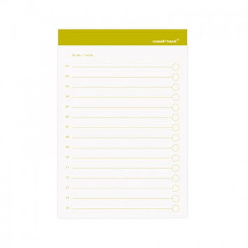 Russell + Hazel To-Do Self-Adhesive Notes (set of 3) - olive