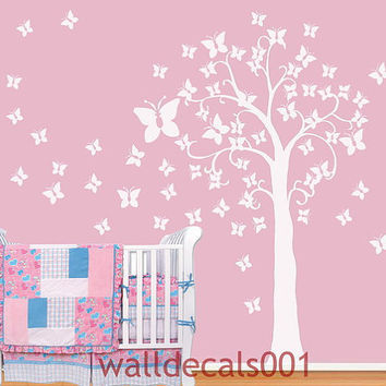 Baby Nursery Wall Decal Wall sticker Tree by walldecals001 on Etsy