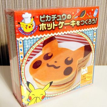Pokemon Center Limited Pikachu Pancake Mold Set From Japan