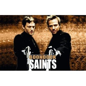 the boondock saints poster Metal Sign Wall Art 8in x 12in