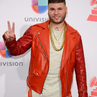 Python jacket wore by latin artist