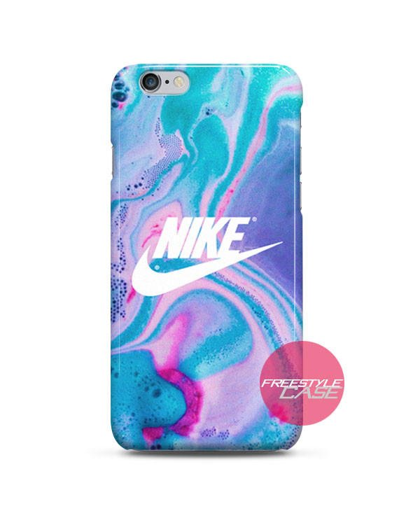 buy popular 2b05b 4deb5 Nike Just Do It Water Marble Pastel iPhone Case 3, 4, 5, 6 Cover