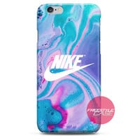 Nike Just Do It Water Marble Pastel iPhone Case 3, 4, 5, 6 Cover
