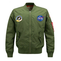 NASA Bomber Jacket by Dimusi