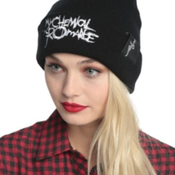 My Chemical Romance Black Parade Watchman Beanie