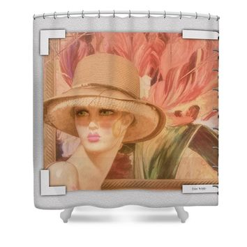 Fun and Flirty Shower Curtain for Sale by Liane Wright