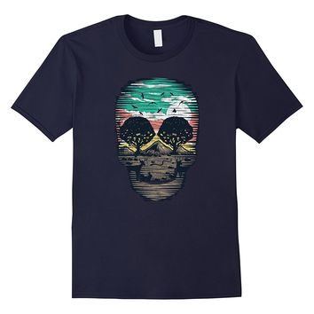 Skull Nature T-Shirt Day of the Dead