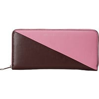 Marc by Marc Jacobs Sophisticato Sliced Slim Zip Around