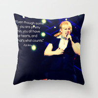 Fat Amy- pitch perfect Throw Pillow by kenzienphotography | Society6
