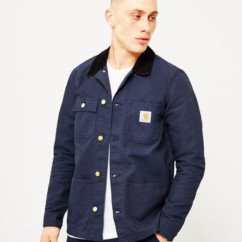 Carhartt WIP Michigan Chore Coat Denim Blue