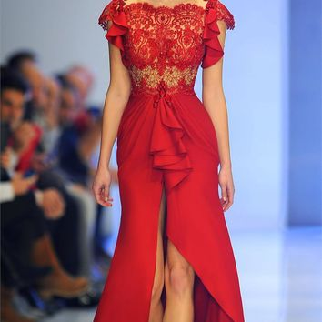 MNM Couture-Fouad Sarkis dress 2137 - netfashionavenue