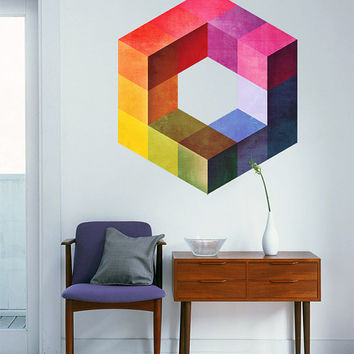 Geometric Mid Century Modern Color Form