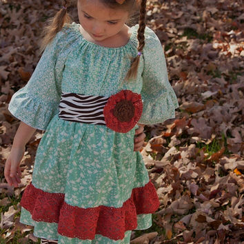 """CLEaRANCE * SaMPLE SaLE* REaDY 2 ShIP*  Girls """"FLAVORS OF FALL"""" collection abby tunic and Bella pants size 4/5"""