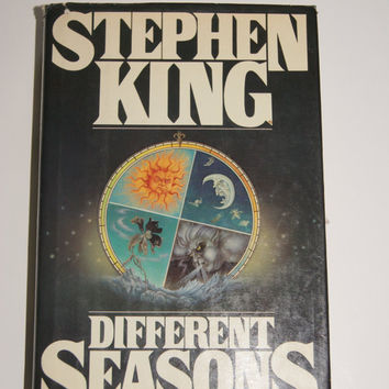 DIFFERENT SEASONS Hardback Book With Dust Jacket By Stephen King Viking Press 1982