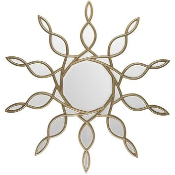 Hartford Gold Sunburst Mirror