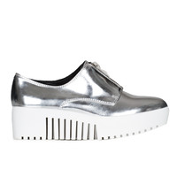 OPENING CEREMONY ZIP FRONT MIRROR PLATFORM OXFORDS - WOMEN - FOOTWEAR - OPENING CEREMONY