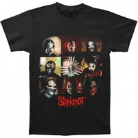 Slipknot Blocks T-shirt - Slipknot - S - Artists/Groups - Rockabilia