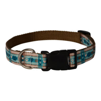 Dog Collar Puppy Picnic Pattern