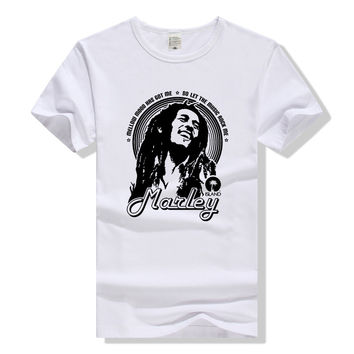 Bob Marley T Shirt Rockstar T-Shirt Men Women Tshirt Cotton Tee Regge Music Clothing