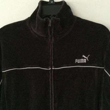 Sale!! Vintage Puma Casual Sport track Jacket size Medium Free Shipping within the USA