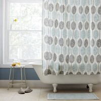 Dot Medallion Shower Curtain